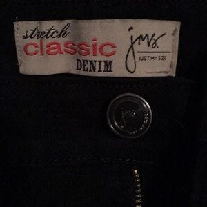 Just My Size Jeans - Just My Size Black Stretch Classic Denim NWOT SOLD